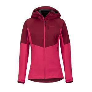 Marmot Womens ROM Jacket Red/Disco Pin