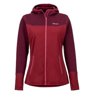 Marmot Womens Sirona Fleece Hoody Clar