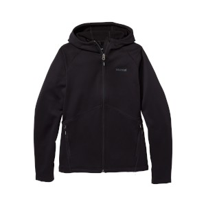 Marmot W Olden Polartec Hoody Black