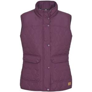 Trespass Womens Jen Gilet Blackberry