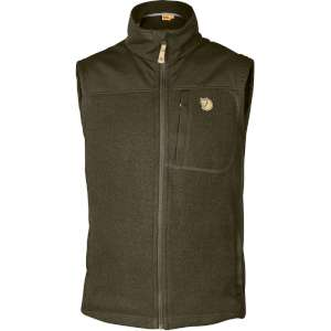 FjallRaven Buck Fleece Vest Dark Olive