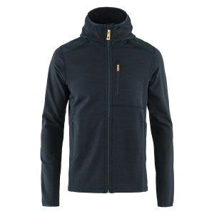 FjallRaven Keb Fleece Hoodie Dark Navy