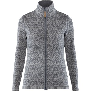 FjallRaven W Snow Cardigan Grey