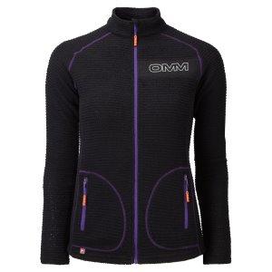 OMM Womens Core Fleece Jacket Black