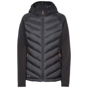 Joyce Womens DLX Hooded Down Jacket Bl