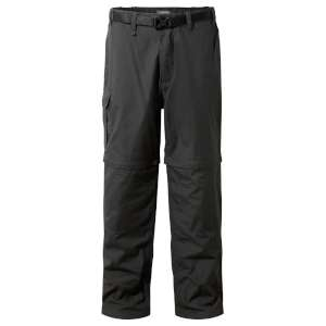 Craghoppers Kiwi Zip Off Trousers Blac