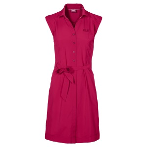 Jack Wolfskin Malawi Dress Azalea Red