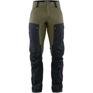 Fjallraven Keb Trousers Navy/Light Oli