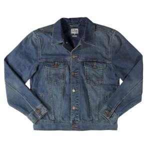Wrangler Classic Denim Jacket Mid Ston