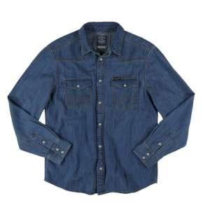 Wrangler Classic Denim Shirt Light Ind