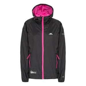 Trespass Qikpac Womens Jacket Black