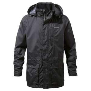 Craghoppers Kiwi Long Jacket Black