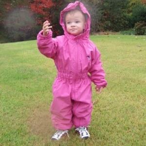 Ozzie Kids Splashsuit WP Pink