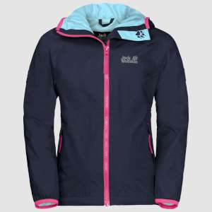 Jack Wolfskin Rainy Day Girls Midnight
