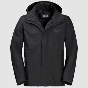 Jack Wolfskin M Highland Jacket Black