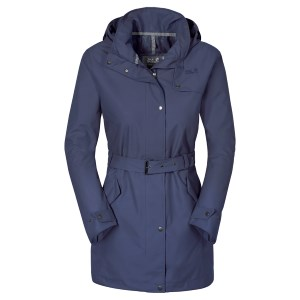 Jack Wolfskin W Muconda Raincoat Blue