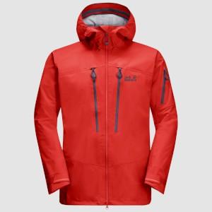 Jack-Wolfskin Exolight Pro Jacket Lava