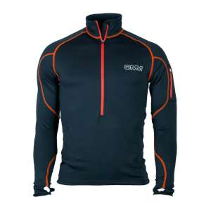 OMM Contour Race Fleece Black/Orange