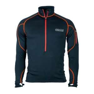 OMM Contour Race Fleece Black/Orange