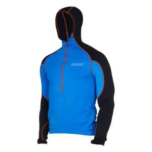 OMM Contour Hood Fleece Black/Blue