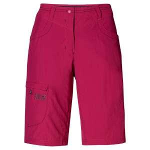 Jack Wolfskin W Sun Shorts Azalea Red