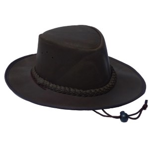 Zambezi Explorer Leather Hat Brown