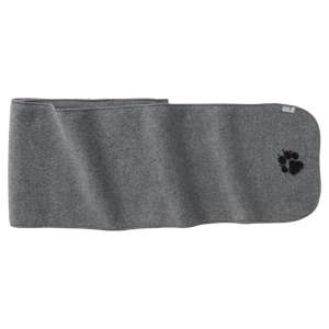 Jack Wolfskin Paw Scarf Grey Heather