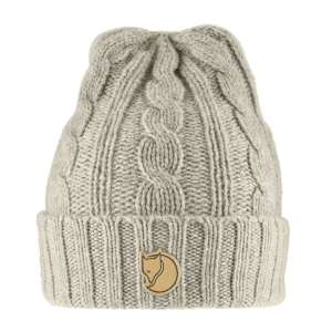 FjallRaven Braided Knit Hat Chalk Whit