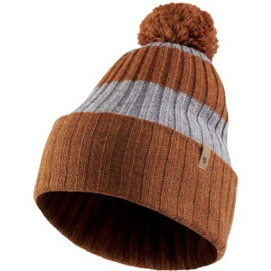 Fjallraven Byron Striped Pom Hat Autum