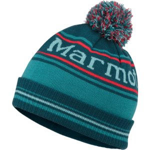 Marmot Retro Pom Hat Deep Teal