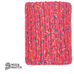 Buff Yssik Knitted Neckwarmer Pimk Flu