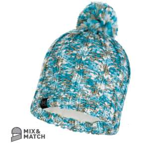 Buff Livy Kintted Hat Aqua