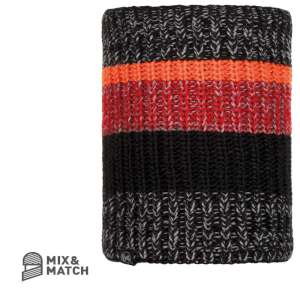 Buff Stig Knitted Neckwarmer Black