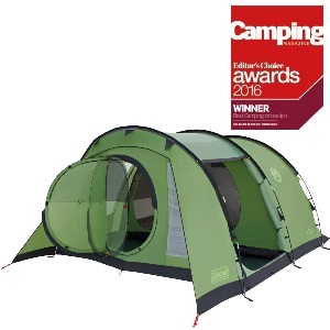 Coleman Cabral 5 Tent Green