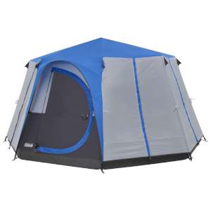 Coleman Cortes Octagon 8 Tent Blue