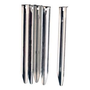 5x Vango 20cm Steel V Peg 5