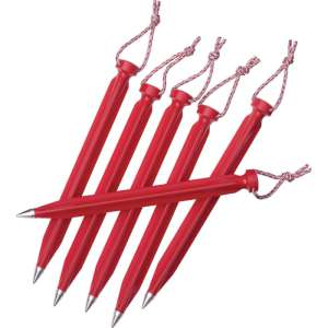 MSR Dart Stakes 6inch Red