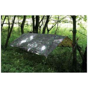 Highlander Waterproof Basha Tarp Camo
