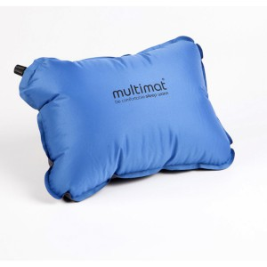 Multimat Camper Pillow Blue/Charcoal