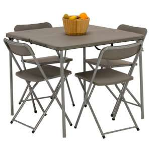 Vango Orchard Table and Chair set Grey