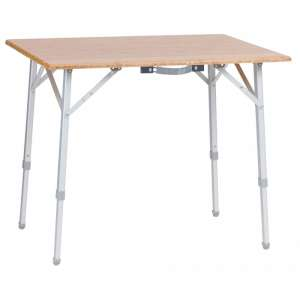 Vango Bamboo Table 80x60x65cm Bamboo