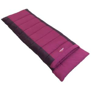 Vango Harmony Single Sleeping Bag Plum