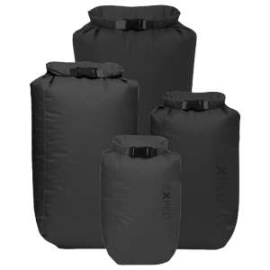 Exped Fold Drybags 4 Pack Black
