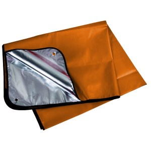 Trekmates Thermo Blanket Orange Silver