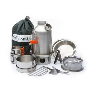 Kelly Kettle Ultimate Scout Kit Stainl