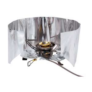 Windscreen & Reflector Set Silver