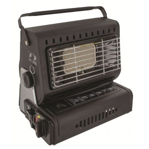 Highlander Portable Gas Heater Black
