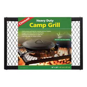 Coghlans Heavy Duty Camp Grill Black