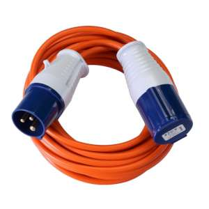 Vango Voltaic 10m Mains Cable Orange