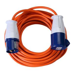 Vango Voltaic 25m Mains cable Orange